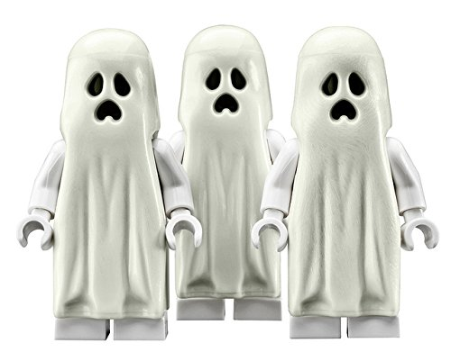 (LEGO Ghost (Glow In The Dark) - 3 Pack Minifigures Monster)