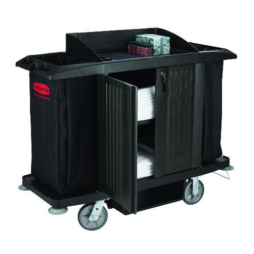 Multi-Shelf Cleaning Utility Cart Size: 50