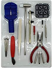 Watch Repair Kit,16PCS Professional Battery Replacement Spring Bar Tool Set