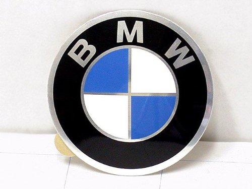 Genuine Bmw Center (BMW Wheel Center Cap Emblem 58mm GENUINE hubcap logo roundel sticker)