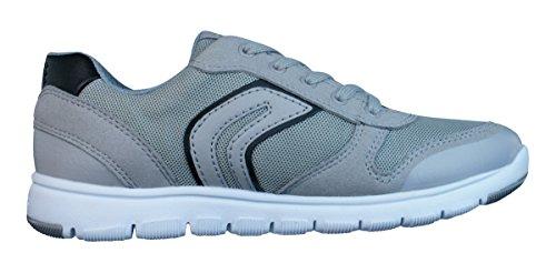 Geox J Xunday B Zapatillas de chicos Grey