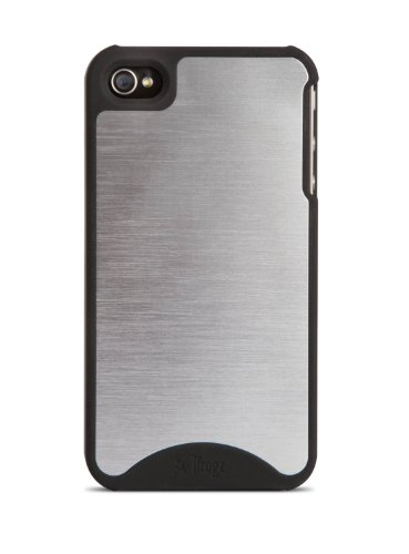 Ifrogz Metal - iFrogz Fusion Case for iPhone 4 & 4S - Retail Packaging - Metal/Black