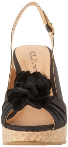 CL By Laundry Ilena-3 - Plataforma mujer Black