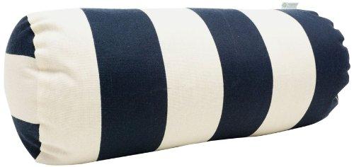 Navy Bolster Pillow - 5