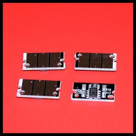 Simplyitem © Set 4 Compatible Konica Minolta Bizhub C25 C35 C35P imaging (drum) unit reset chips