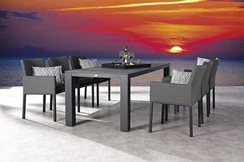 Modern Diner Sitzgruppen : Gartengarnitur garten set gartengruppe gartenmöbel aluminium