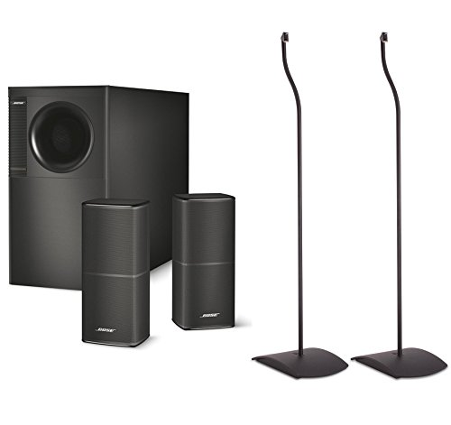 Bose Acoustimass 5 Series V Stereo Speaker System, Black Bun