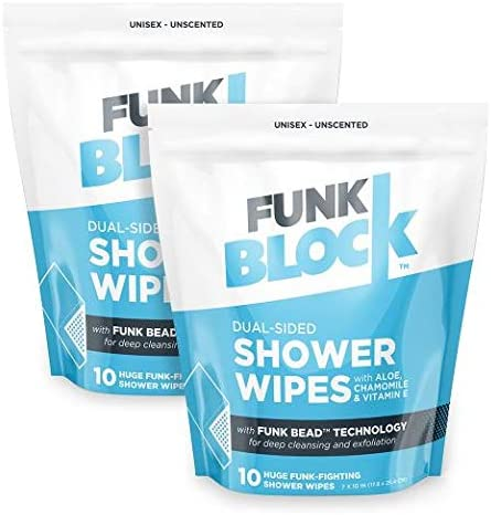 FunkBlock Body Wipes Cleansing Individually product image