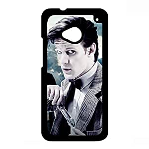 Handsome 10th Doctor Doctor Who Htc One M7 Case,Doctor Who Phone Case Black Hard Plastic Case Cover For Htc One M7