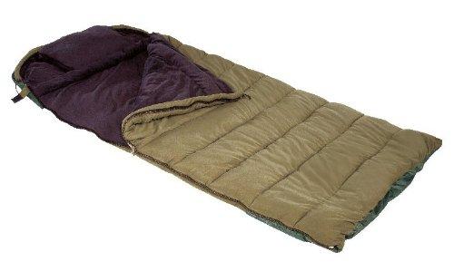 Anaconda Unisex– Erwachsene Schlafsack NW III, Schwarz Beige, XXL-Maße: 230 x 105 x 10,5cm