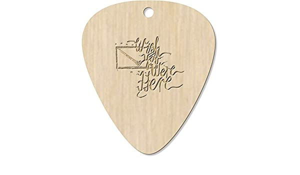 Azeeda 7 x Wish You were Here Guitarra Púa (GP00012823): Amazon ...
