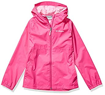 Columbia Girls' Toddler Switchback II Jacket, Pink Ice, 2T