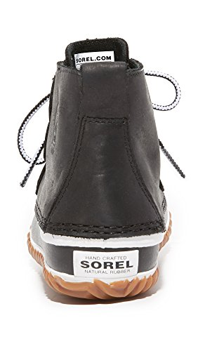 Snow Out Leather N Black White Boot Women's Rain Sorel About OfYyK