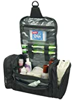 Deluxe Travel Kit Organizer w/ Hanging Hook