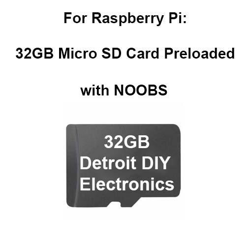 Preloaded Micro Raspberry Models Adapter