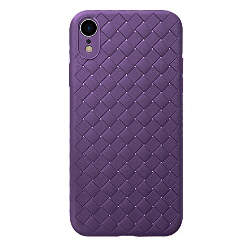 02ec0dd81e24f Fiaya Compatible with Apple iPhone XS/iPhone XS Max/iPhone XR, Woven  Textured Patten PU Leather,Non-Slip, Textured, Shockproof, Ultra Slim, ...