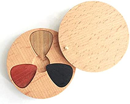 MiCity púa de madera para guitarra hecha a mano para amantes de la ...