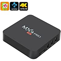 [2017 Version] KD 17.3 MXQ Pro HDTV BOX UHD 4K Android 6.0/64Bit/Amlogic S905X Quad Core