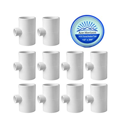 """4 AUTOMATIC WATERER DRINKER CUPS /& 1//2/"""" PVC TEE FITTING CHICKEN WATER POULTRY"""