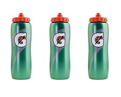 3 X Gatorade 32 ounce Squeeze Bottle