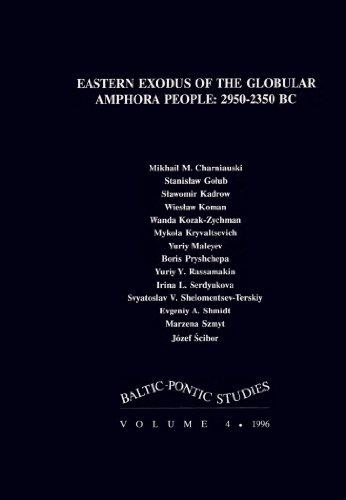 Eastern Exodus of the Globular Amphora People: 2950-2350 BC