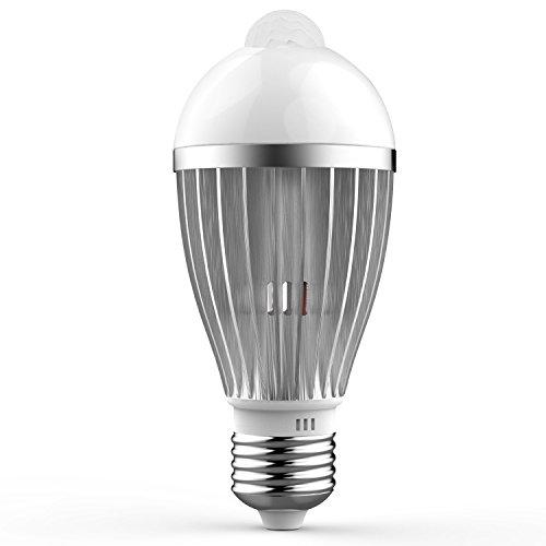 iRainy E27 5W LED Infrared Motion