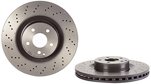 Brembo 09.A817.11 UV Coated Front Disc Brake Rotor