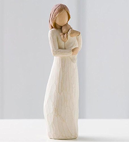 Willow Tree hand-painted sculpted figure, Angel Mine (26124)