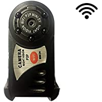 Hidden Spy Camera – HD Mini Portable Wireless Cam with Motion Detection and Night Vision / Rektec TC90 Spy Camera / Wifi / Multi-function / Surveillance / Nanny Cam / Remote View Android and iOS