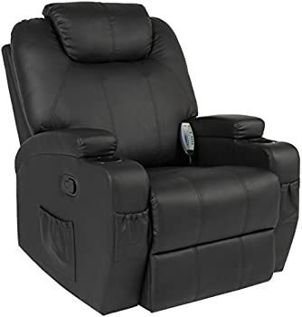 Best Choice Products Executive Heated Massage Recliner Chair