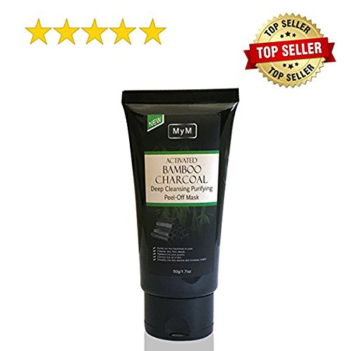 MyM New Blackhead Peeling Remover Mask Blackhead Peel off mask Black Mud Face Mask Suction Cleansing Blackhead Mask Deep Cleansing Pore Nose Mask