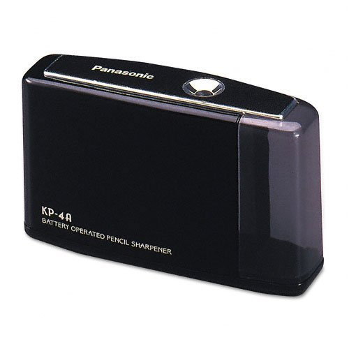 Panasonic KP4A BK battery pencil sharpener
