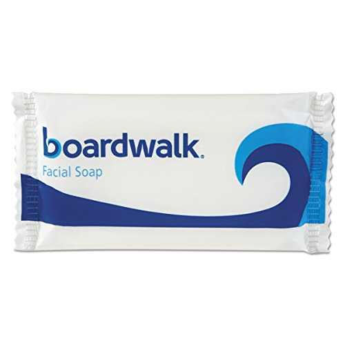 Boardwalk NO12SOAP Face and Body Soap, Flow Wrapped, Floral Fragrance, 1/2 Bar (Case of 1000)