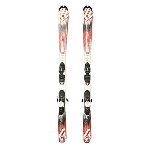 Used 2015 K2 AMP Strike Skis with Lithium 10 Bindings A Condition Great Starter Set