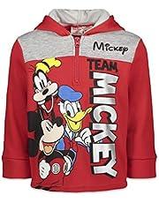 Disney Mickey Mouse Fleece Half-Zip Pullover Hoodie
