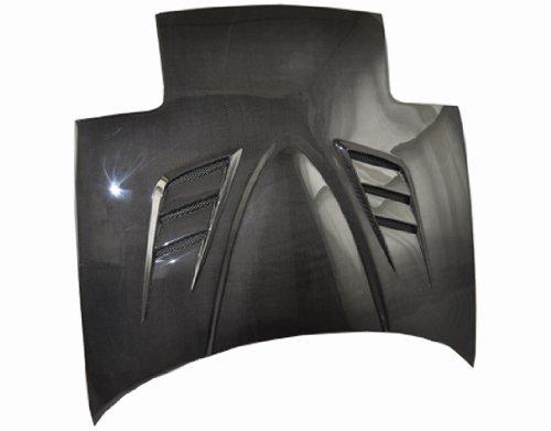VIS Racing 90MZMX52DVSP-010C - Mazda Miata 2Dr Vx Carbon Fiber Hood - 2dr Vis Carbon Fiber Hood