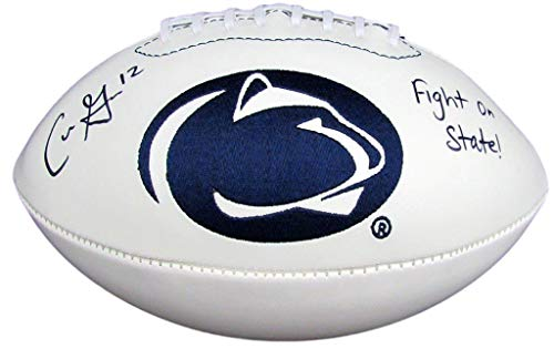 - Chris Goodwin Signed Penn State Nittany Lions Logo Football 129927 - JSA Certified - Autographed College Footballs
