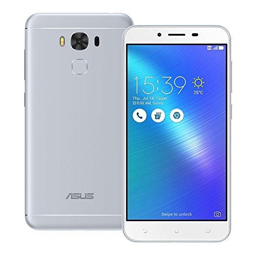 Asus Zenfone 3 Max ZC553KL 32GB Gray, 5.5-inch, 3G RAM, Dual Sim, GSM Unlocked International Model, No Warranty