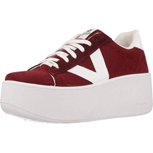 Rouge Red Sport Pour Femmes Couleur De Mark Victoria Chaussures AqHAwr0f