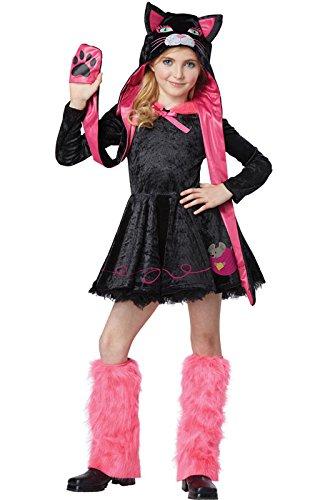 California Costumes Sassy Cat Child Costume, X-Small (Kids Kitten Costume)