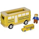 Plan Toys School Bus Playset