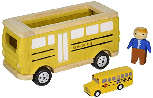 Plan Toys School Bus Playset product image