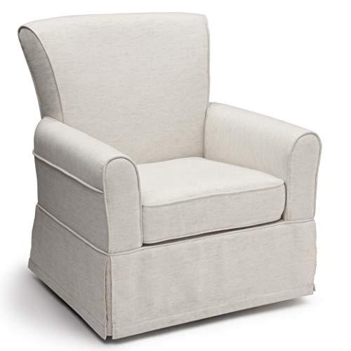 Delta Children Upholstered Glider Swivel Rocker Chair