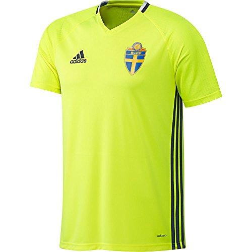 adidas Herren SVFF Schweden Trainingstrikot, Syello/Conavy, XL, AC3906
