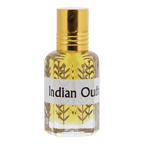 Hijaz Indian Oudh Fragrance Perfume Oil Alcohol Free Woody Scent - 3ML