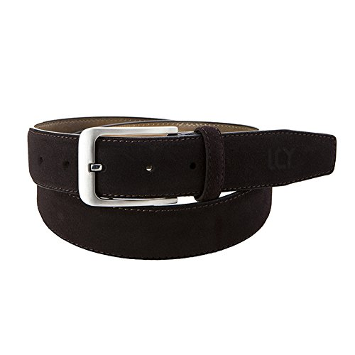 Suede Leather Belt Strap (Suede Leather Belt for Men Brown Color 35mm)