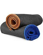 NirvanaShape ® Kylhandduk med en Svalkande Effekt | Ultra-Lätt & Luktfri Handduk | Idealisk för Sport och Fritid | för Löpning, Styrketräning, Yoga, Golf, Vandring & Camping