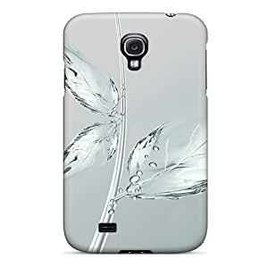 linJUN FENGNew Cute Funny Toshiba Ice Flower Case Cover/ Galaxy S4 Case Cover
