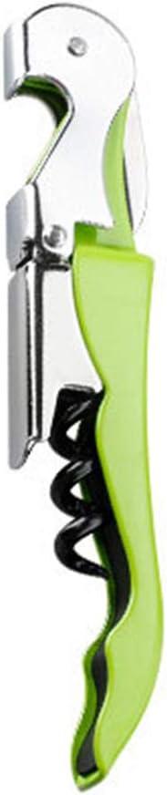 Kellnermesser multifunktionaler Korkenzieher,Edelstahl Kellnermesser,Wein/öffner /& Flaschen/öffner f/ür Kellner /& Barkeeper