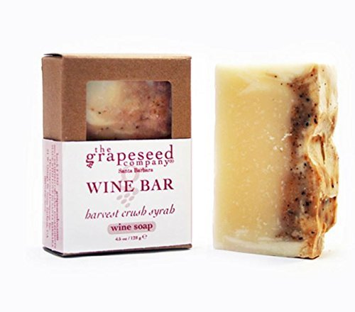 Wine Bar Soap, 4.5 Oz, Harvest Crush Syrah by The Grapeseed Company